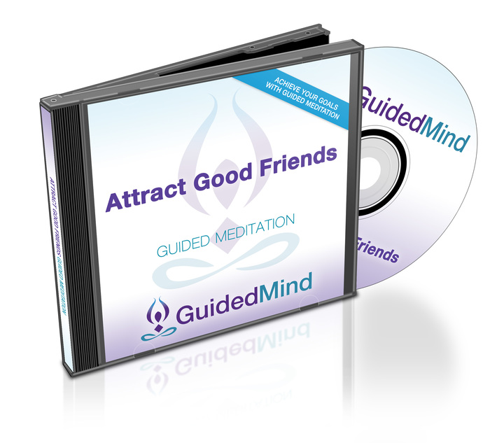 Attract Good Friends CD Album Cover
