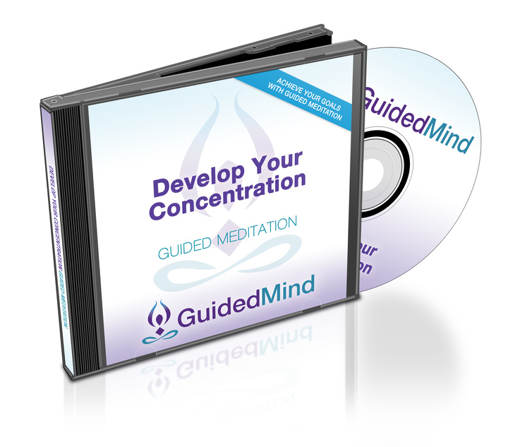 Develop Your Concentration CD Album Cover