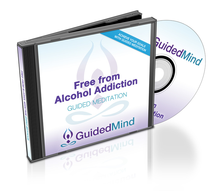 Free from Alcohol Addiction CD Album Cover