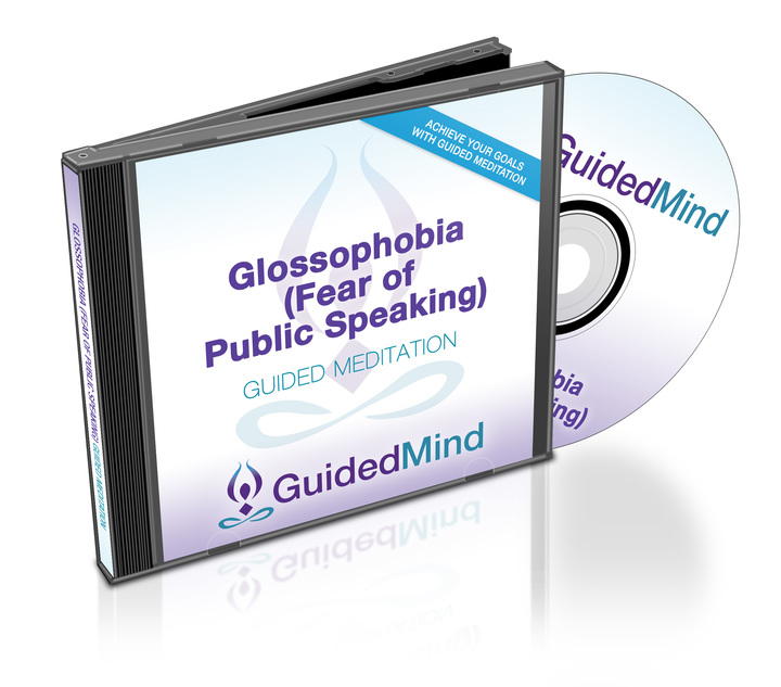 Glossophobia (Fear of Public Speaking) CD Album Cover